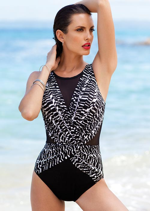 Miraclesuit Between The Pleats Palma Swimsuit