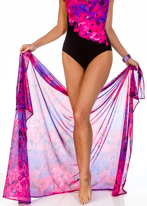 Miraclesuit Floral Cascade Pareo