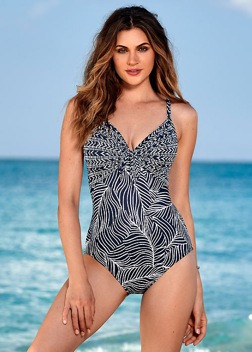 Miraclesuit Lush Lanai Pin Up Swimsuit