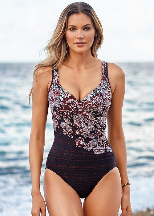 Miraclesuit Mendhika Its A Wrap Swimsuit