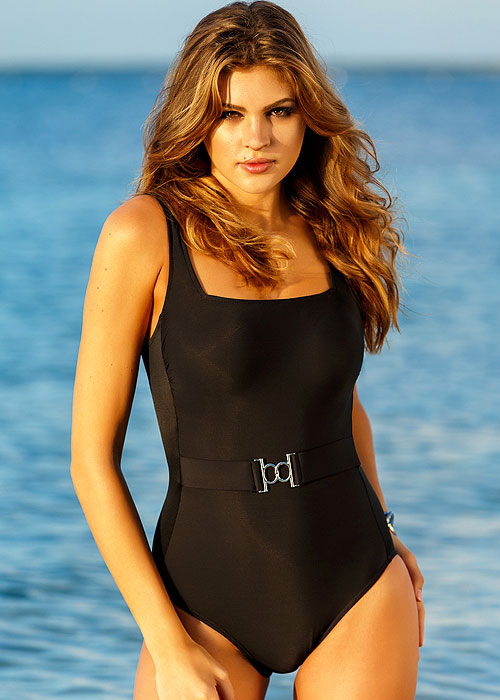 Miraclesuit New Sensations Belterra Black Swimsuit
