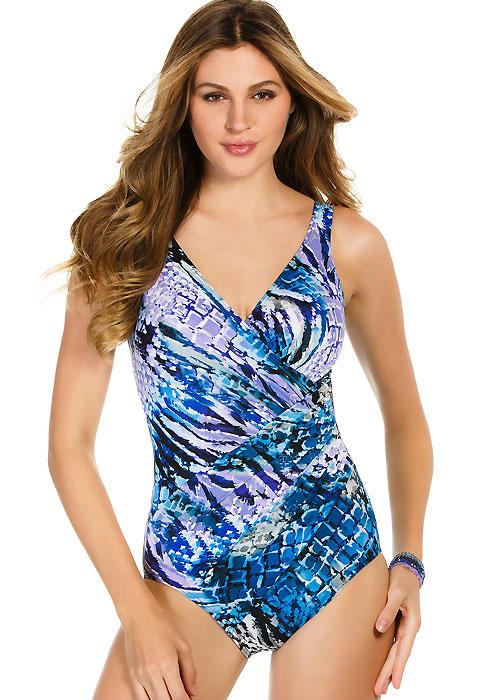 Miraclesuit Rattled Oceanus Swimsuit