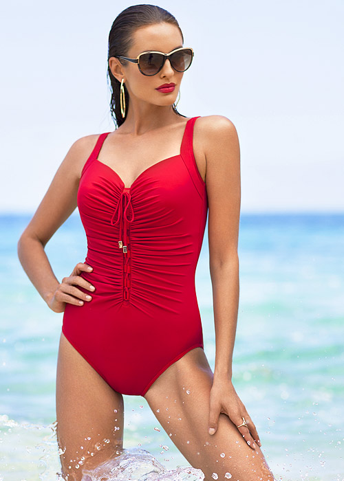 Miraclesuit Summer Solid Rivage Swimsuit