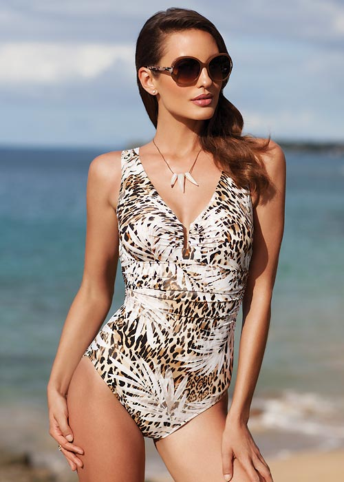 Miraclesuit Sheer Safari Palisades Swimsuit