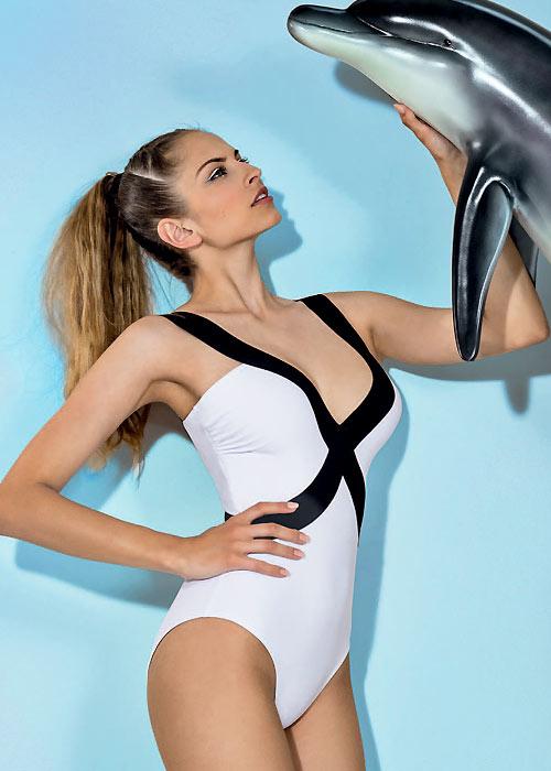 Nicole Olivier Manolo Swimsuit