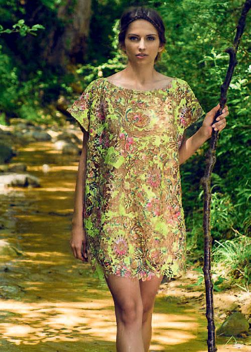 Nicole Olivier Mustang Sun Dress