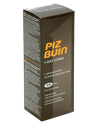 Piz Buin 1 Day Long Lotion Factor 15 Medium 100 ml