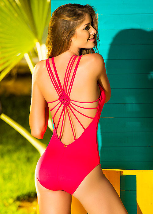 Phax Cavalier Macrame Back Swimsuit