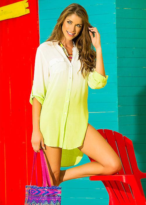 Phax Ombre Beach Shirt