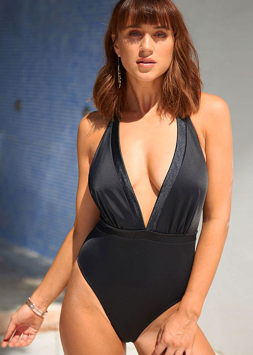 Pour Moi Jet Set Halter Neck Swimsuit