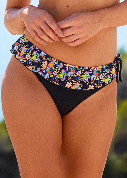 Pour Moi Sunkissed Skirted Bikini Brief