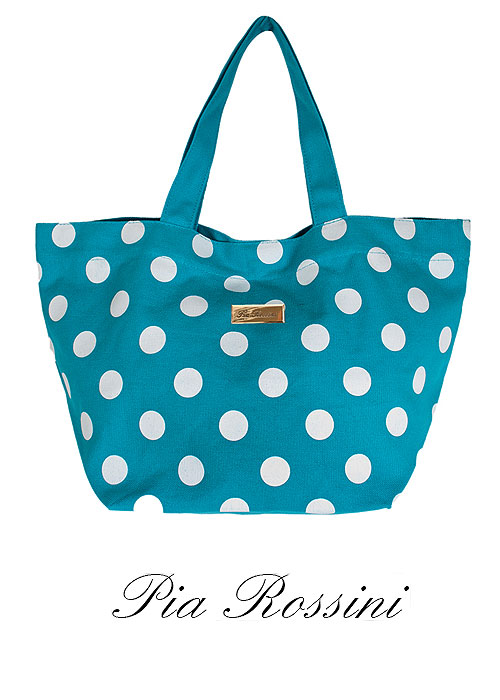 Pia Rossini Bella Mini Polka Dot Bag