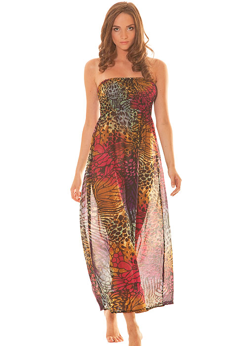 Pia Rossini Grenada Sultry Summer Print Maxi Dress