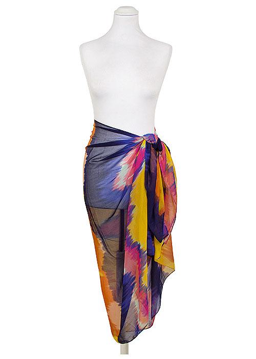 Pia Rossini Miami Rainbow Sarong