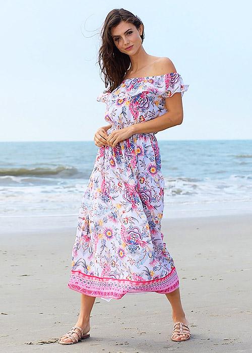 Pia Rossini Mijas Maxi Dress