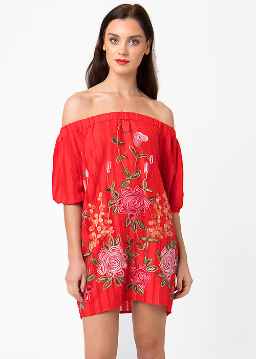 Pia Rossini Zella Bardot Dress