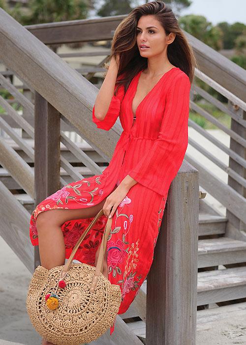Pia Rossini Zella Kimono