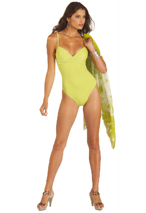 Roidal Eric Swimsuit In Lime