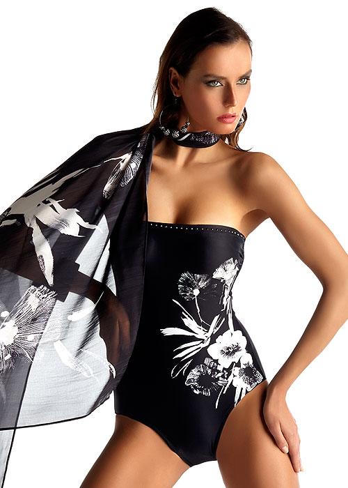 f2890c52414d47 Roidal Megan Bandeau Swimsuit Has Free Shipping At UK Swimwear