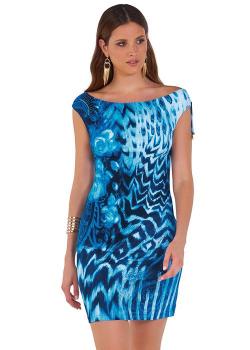 Roidal Blues Crispa Sun Dress
