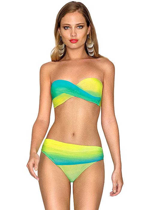 Roidal Brasil Carol Ombre Bandeau Bikini