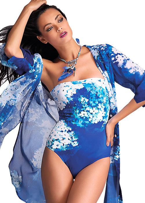 Roidal Blue Flower Cala Swimsuit
