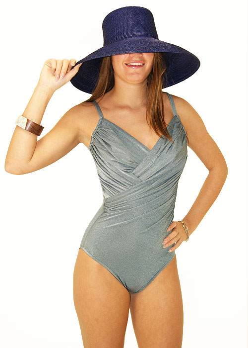 Roidal Canne Swimsuit in Grey