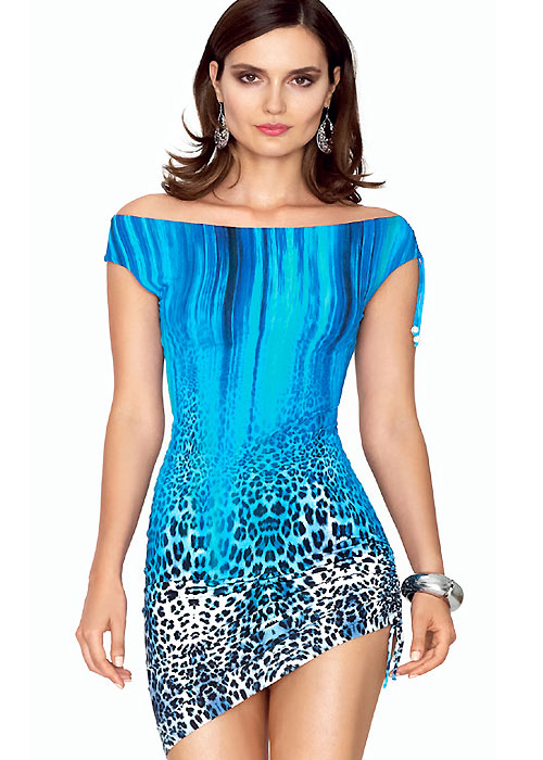 Roidal Sauvage Blue Vera Sun Dress