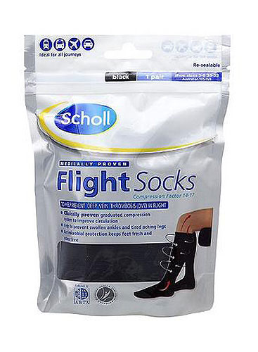 Scholl Opaque Flight Socks