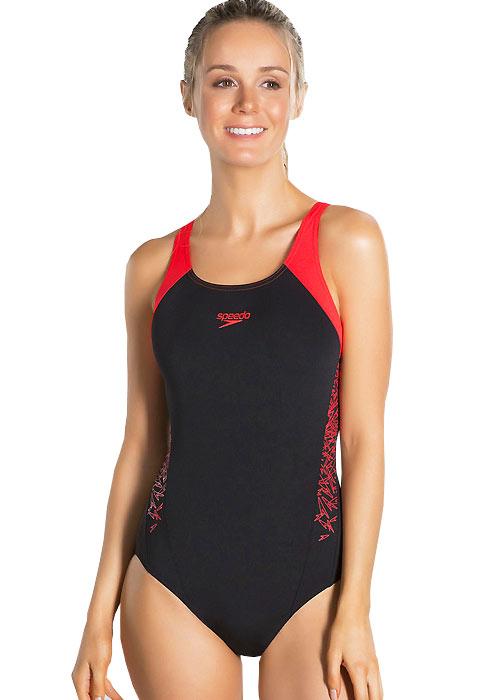 Speedo Essential Boom Splice Muscleback Swimsuit