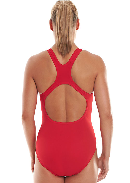 Speedo Essential Medalist Swimsuit - Red
