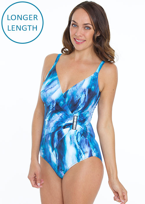 Seaspray Aura Stone Side Buckle Strap Swimsuit