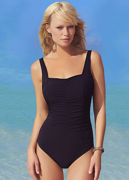 Sunflair Shirred Essential Swimsuit