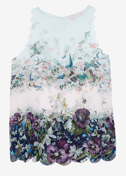 Ted Baker Entangled Enchantment Saraya Sun Dress