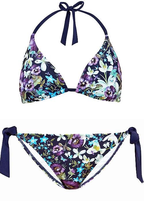 Ted Baker Entangled Enchantment Syala Triangle Bikini