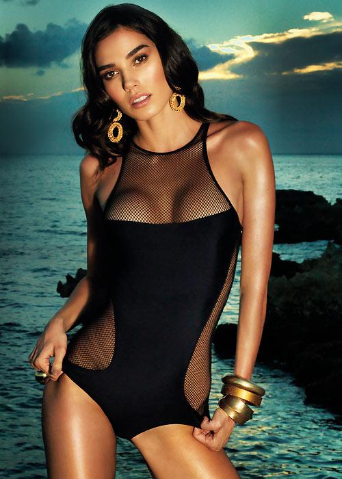 Vacanze Italiane Gold Label Mesh Swimsuit