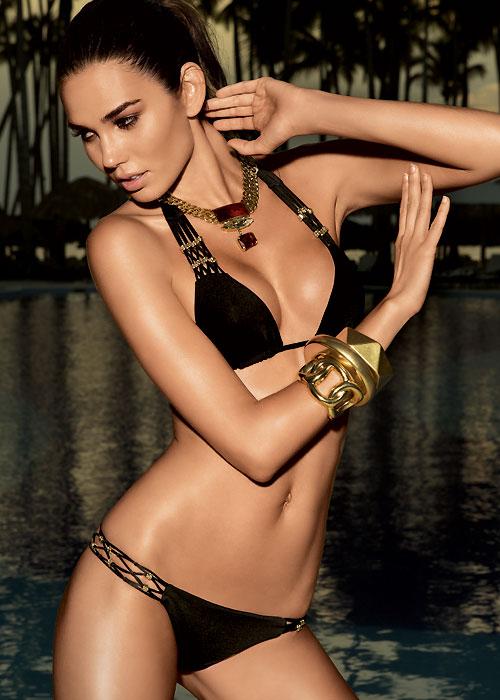 Vacanze Italiane Gold Label Nero Triangle Bikini