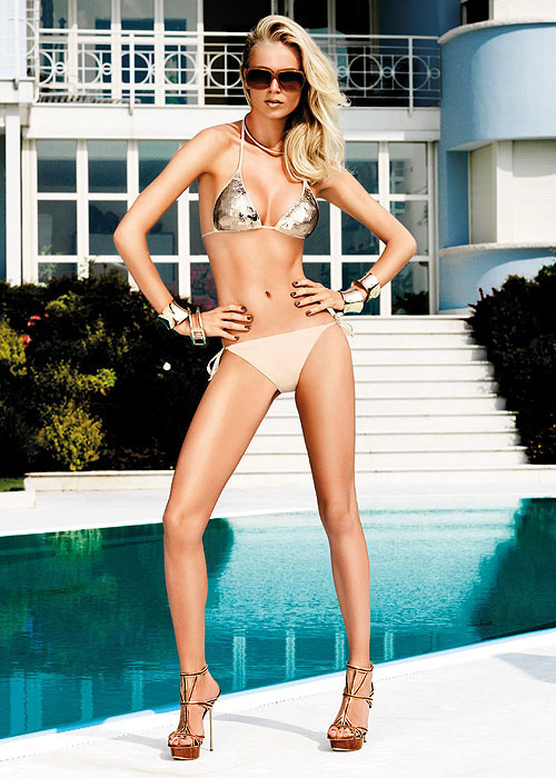 Verde Veronica Shimmer Bikini