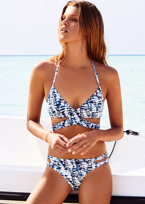 Watercult Batik Twist Cut Out Bikini