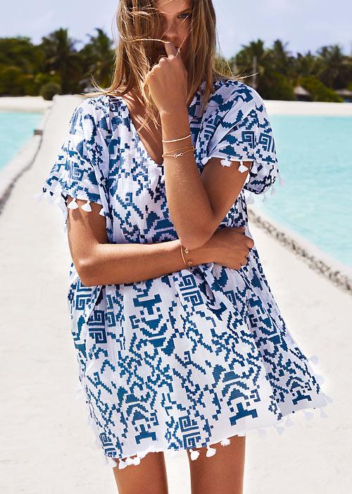 Watercult Batik Twist Tunic