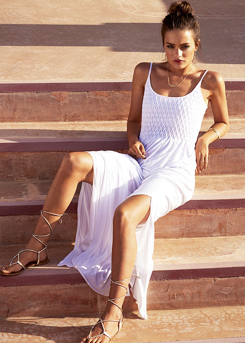 Watercult Summer White Maxi Dress