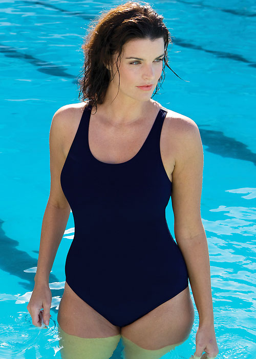 339f78156e Cottesloe Powerback Blue Swimsuit From Zoggs | UK Swimwear