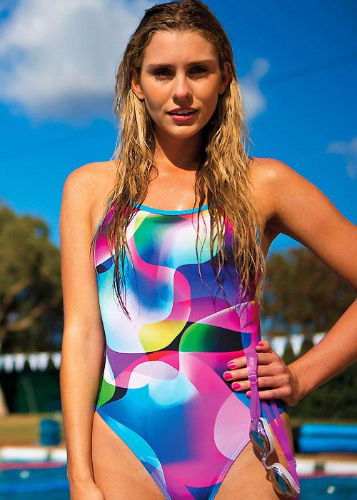 Lava Beach Aquaback Swimsuit By Zoggs Uk Swimwear